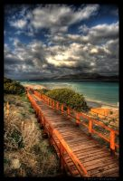 Wooden Boardwalk by colpewole