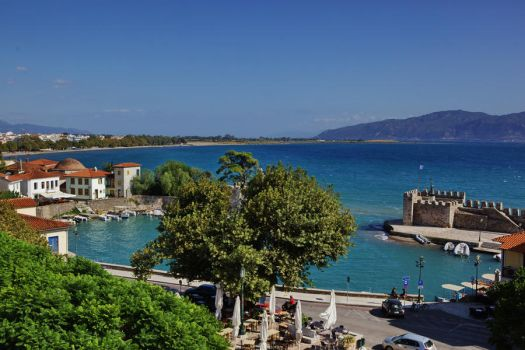 Nafpaktos port II by AndreasStavropoulos