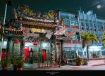 Chinese Temple by clairde