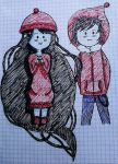Marceline and Marshall Lee by joker-snp