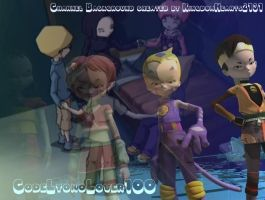 Code Lyoko - Blended Image by SquareEnixRocks
