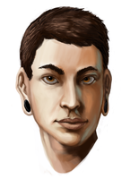 Davy Speed Paint by Peepsicle