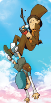 Gravitate: Professor Layton/Luke by Thingamajica