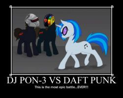 DJ PON-3 vs Daft Punk by Like-A-British-Guy