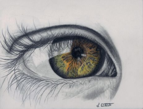 Colorful Eye by Deathangirl