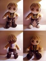 Jean Kirschtein Plushie by StrawberryParall