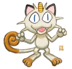 ZZ Meowth by zenzmurfy