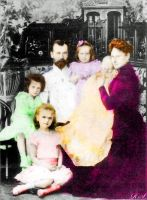 Russian Imperial Family 1901 by Sonja-from-Finland