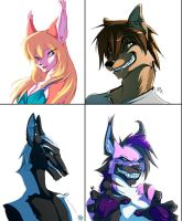 Bust commissions by Edheloth