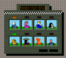 Kart Time Choose Player (And Beta Preview) by StickMandA