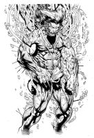 Sharpe Weapon X inks by MarkStegbauer