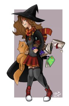 Hermione Granger by Masked-Patatoe
