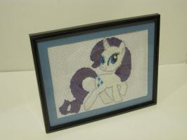 Rarity Cross Stitch by Kittychanann