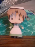 Maid Chibitalia Papercraft by DuckHunter111