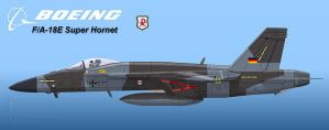 Luftwaffe Super Hornet 1 by Wolfman-053
