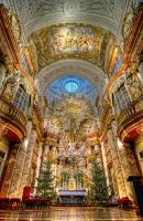 Austria,Vienna - St. Charles's Church by hdrgr