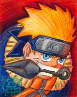 Naruto Painting by ninjatron