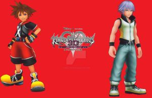 Kingdom Hearts 3D: Dream Drop Distance by Ginny112233