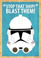Star Wars Poster by Procastinating