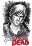 Daryl Dixon Fanart  WALKING DEAD by ArtByFab