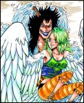 harpy hugs by CoralSnake