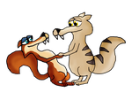 Scrat/Scratte finished by Cool-Party