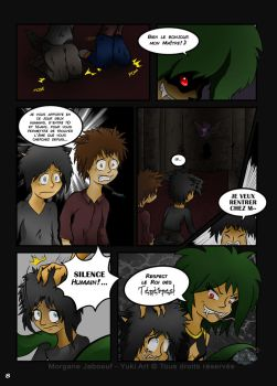 Link Adventure page 8 - The Prologue by YukiArtOfficiel