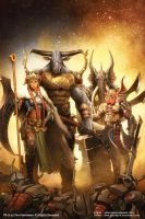 Four Horsemen by AdmiraWijaya