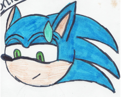 sonic by angle243