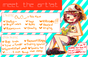 Meet The potato-I mean artist!! by Kiekyun