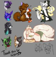 Thank you for Helping Doodles over on FA by MystikMeep