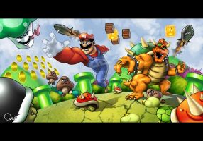 SUPER MARIO II by nirman