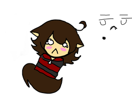 my oc is freindless and sad by bernetwolfamber1