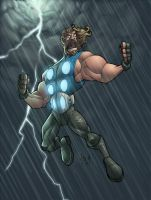 ty's thor colored by me by shalomone