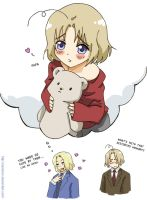 Hetalia: Lovely memory by carichan