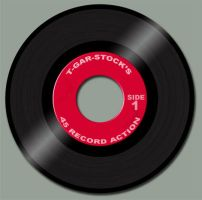 45 Record Action for Photoshop by t-gar-stock