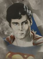 Colored up Superman by corysmithart