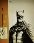 Batman Day Free Sketch by Iantoy