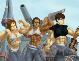 Valkyria Chronicles Paints by Higalack