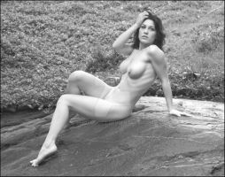 Kymberly Jane on the rock by photodoc2