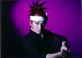 Bleach rock musical Renji by wolf-speaker9