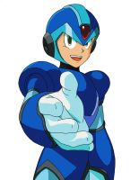 Mega Man X by oroDiabolus