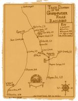 Map of the Gunpowder Falls Railroad by gunslinger87