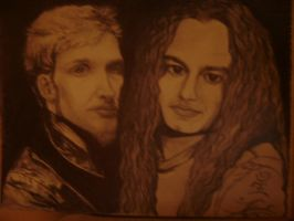 MIKE STARR AND LAYNE STALEY by carriefawnsmom