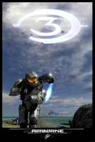 Halo gone Airborne by CporsDesigns
