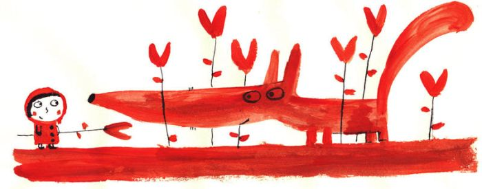 The red wolf by nicolas-gouny-art