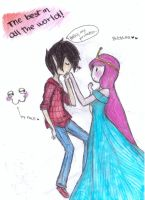 bubblee drawing-hello,my princess... by NENEBUBBLEELOVER