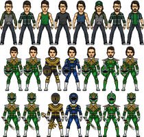 Power Rangers the Saga of Dom by SpiderTrekfan616