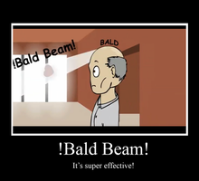 BALD BEAM Poster by Son23