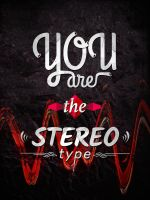 The stereotype - Typography by Twistech